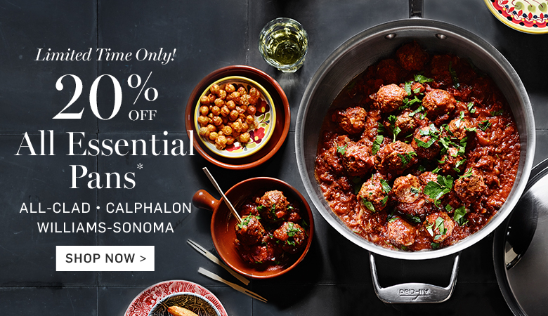20% Off All Essential Pans