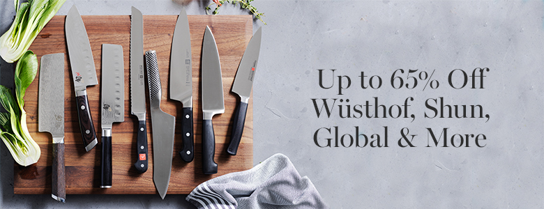 Up to 65% Off Wüsthof, Shun, Global & More!