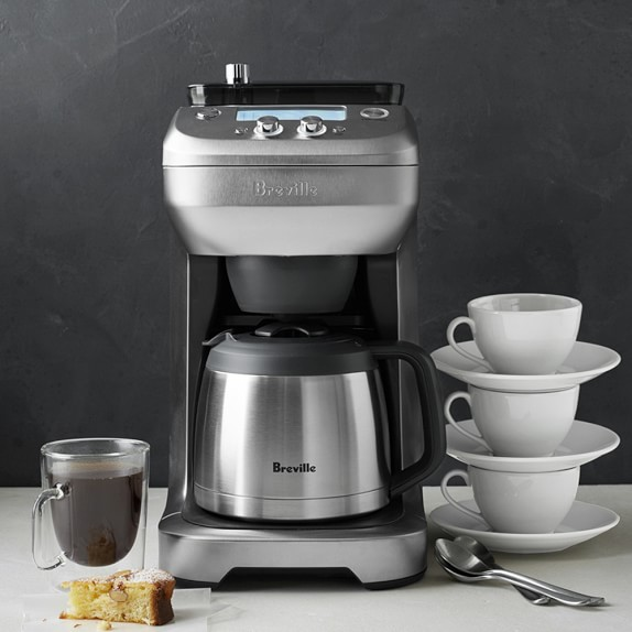 Breville Coffee Maker Program : Breville Grind Control Coffee Maker Williams Sonoma