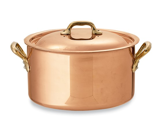 Mauviel Copper Dutch Oven, 6 1/2-Qt.