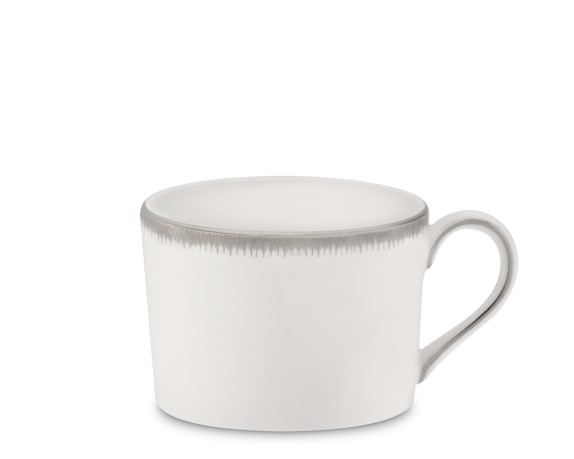 Williams Sonoma Wedgwood Silver Aster Teacup