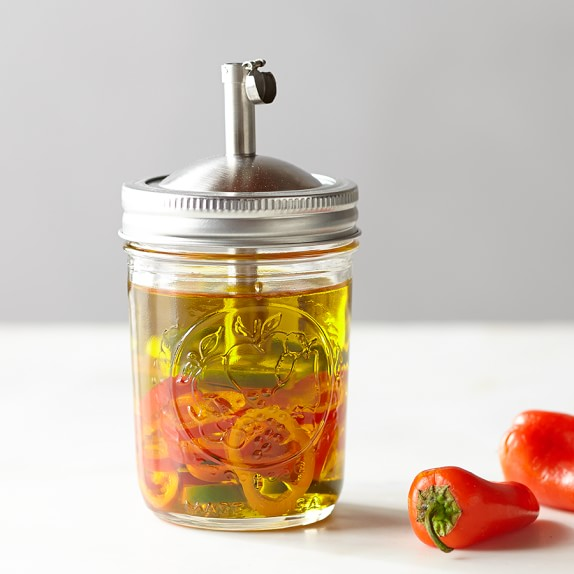 Mason Jar Infuser, 8 oz.