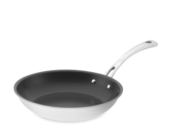 Cuisinart Stainless-Steel Tri-Ply Nonstick Fry Pan, 10