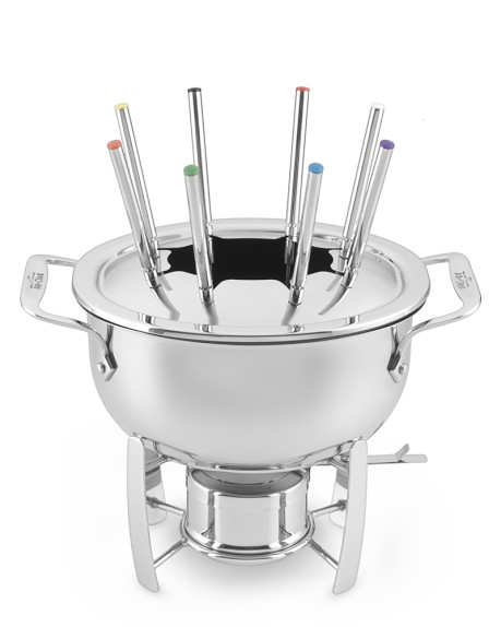 All-Clad Cast Aluminum Fondue Pot