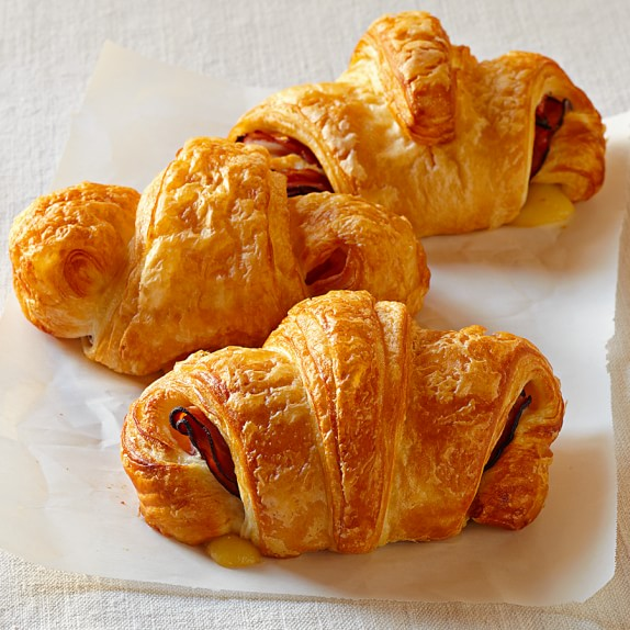 Ham & Cheese Croissants, Set of 10