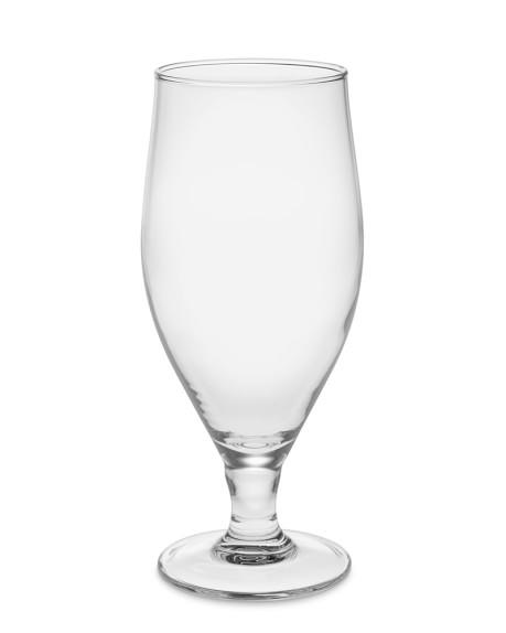 Stemmed Pilsner Glasses, Set of 6