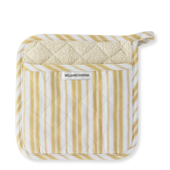 Williams-Sonoma Stripe Potholder, Jojoba