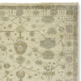 Spring Meadow Oushak Rug Swatch