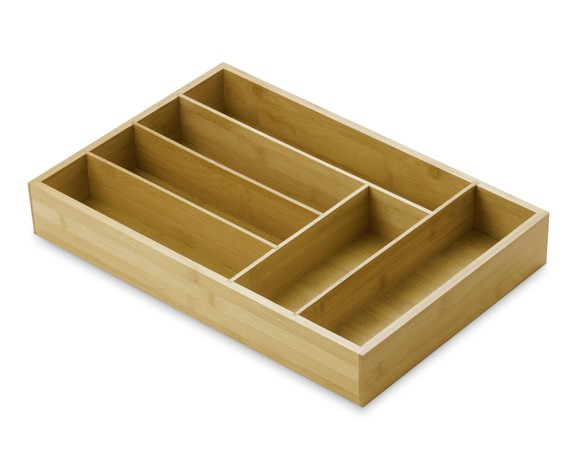 Bamboo Cutlery Tray, Large