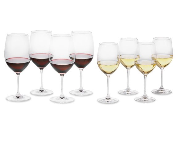 Riedel Vinum Mixed Gift Set, Pay 6-Get 8