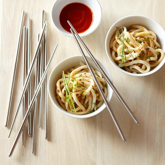 Stainless Steel Chopsticks, Set of 5