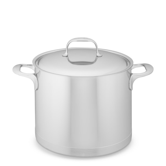 Demeyere Atlantis Stainless-Steel Stockpot, 8 3/4-Qt.