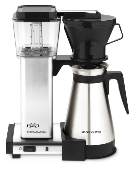 Best Coffee Maker Small Space : Technivorm Moccamaster Manual Drip Stop Coffee Maker with Thermal Carafe Williams-Sonoma