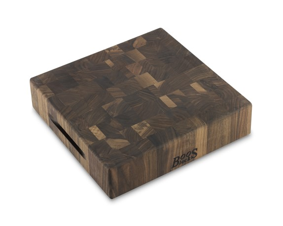 Boos End-Grain Cutting Block, Walnut, 12