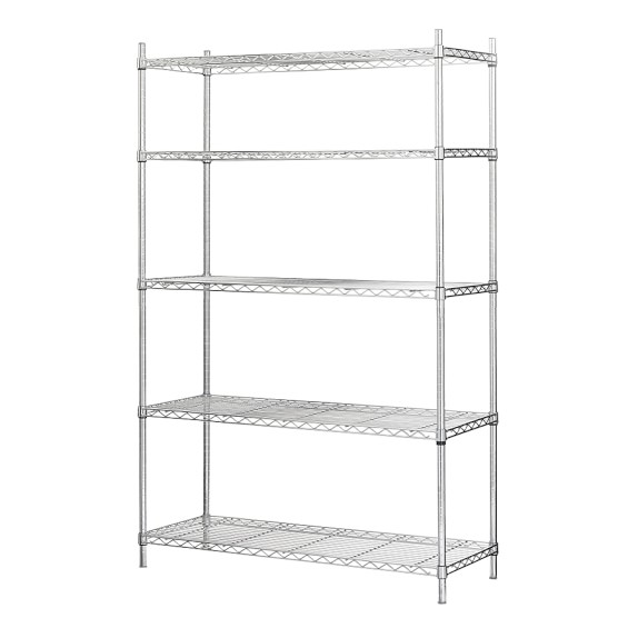 Wire Shelving Extra Shelf for Wide Unit, Chrome