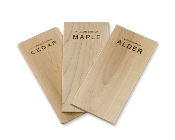 Williams-Sonoma Assorted Wood Grilling Planks, Set of 3