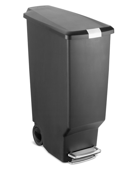 simplehuman™ Slim Plastic Step Trash Can 40L