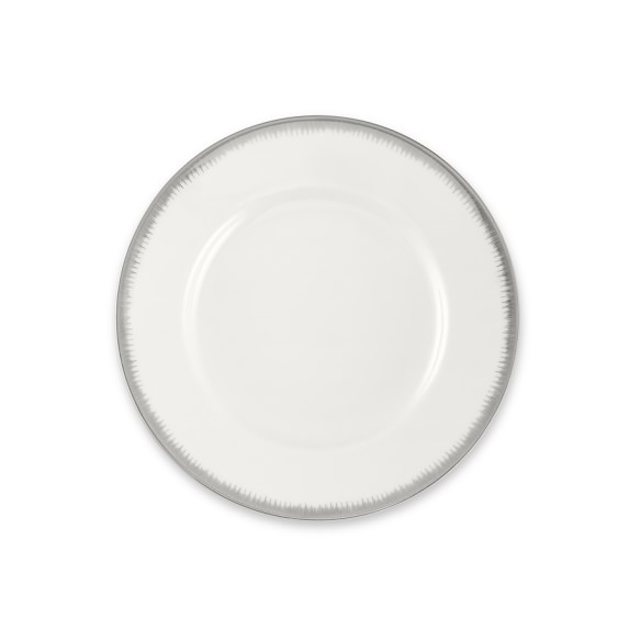 Williams Sonoma Wedgwood Silver Aster Bread & Butter Plate