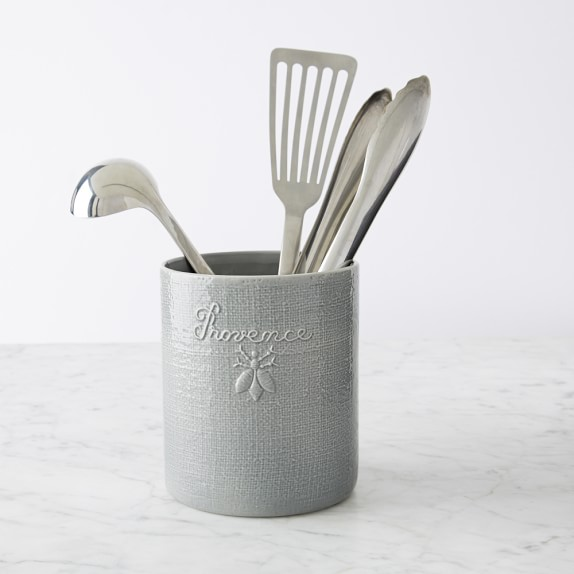 French Porcelain Utensil Holder Williams Sonoma