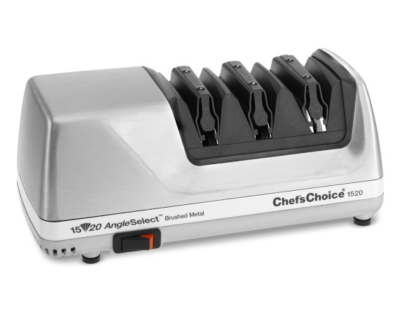 Chef'sChoice 1520 Angle Select Electric Knife Sharpener, Stainless-Steel