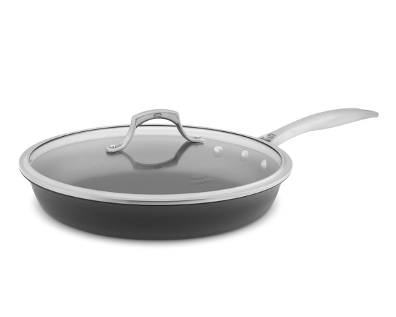 Calphalon Unison Slide Nonstick Covered Fry Pan, 12