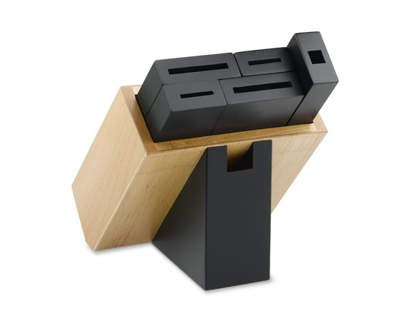 Shun 5-Slot Modular Knife Block, Black