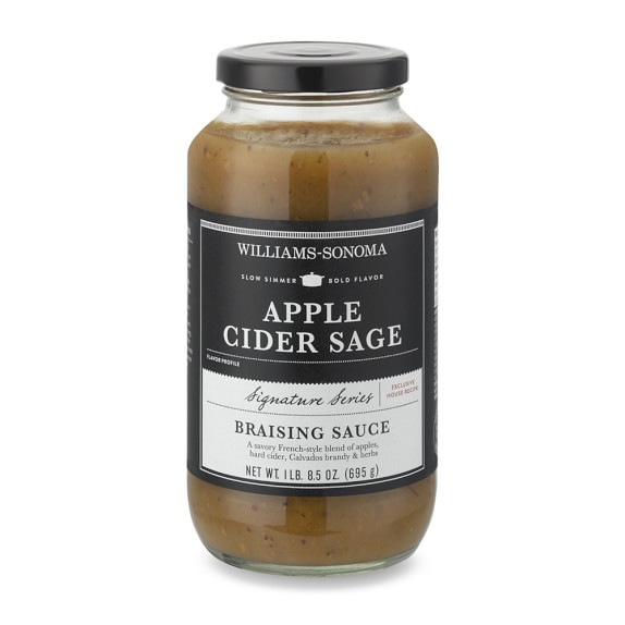 Williams Sonoma Braising Sauce, Apple Cider Sage