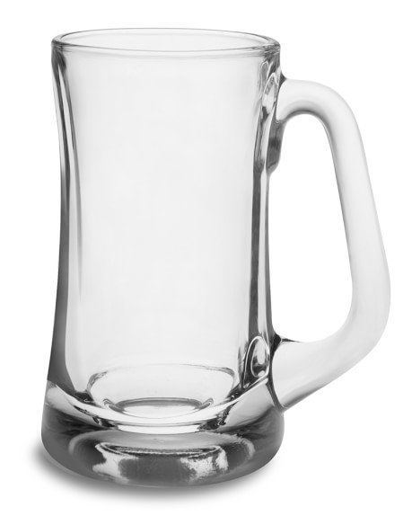 Plain Beer Mugs, Set of 4
