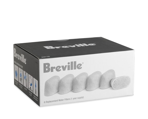 Breville Single-Serve Charcoal Filters, Model # BWF100