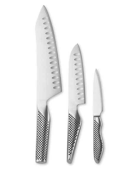 Global Classic 3-Piece Master Chef Knife Set