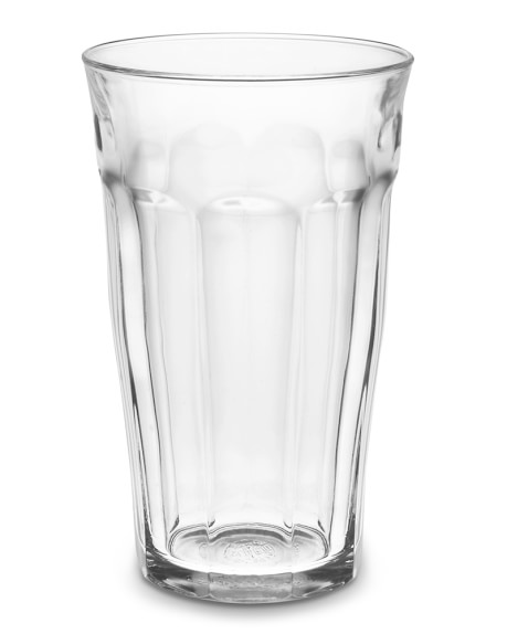 Picardie Glass Tumbler, 16 oz., Set of 6