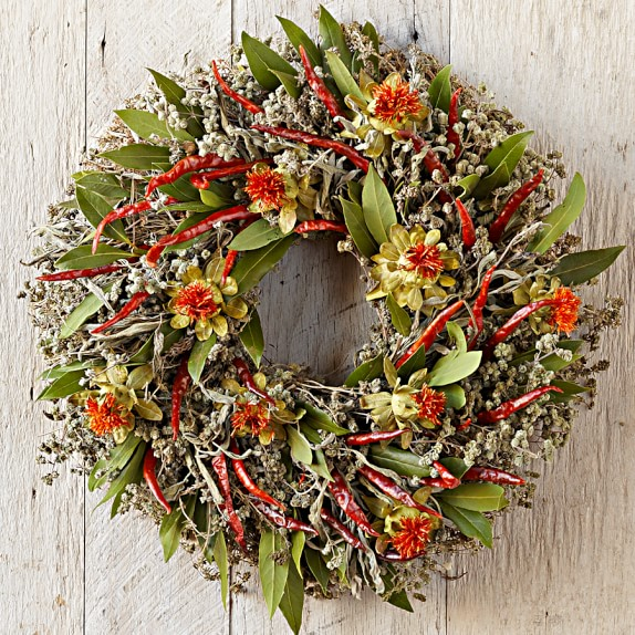 Red Chili Wreath, 14