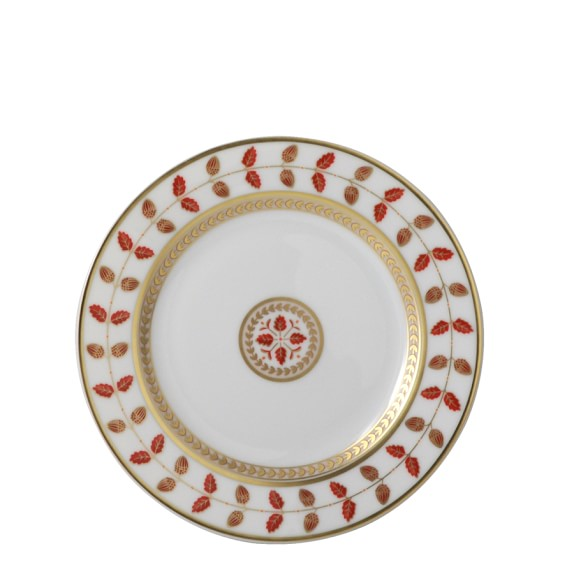 Bernardaud Constance Red Bread & Butter Plate
