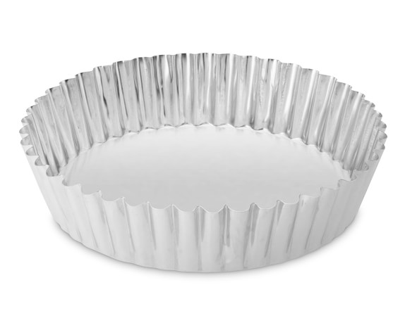 Gobel Standard Traditional Finish Round Quiche Pan, 10 1/4