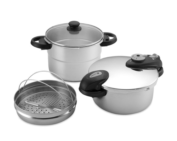 Fagor Futuro 5-Piece Pressure Cooker Set