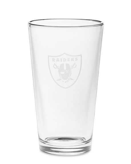 NFL American Pint Beer Glasses, Set of 6