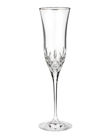 Waterford Lismore Essence Gold Champagne Flute