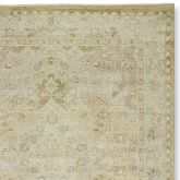 Hand-Knotted Desert Dune Rug Swatch