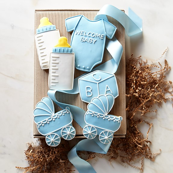 Welcome Baby Boy Cookie Set