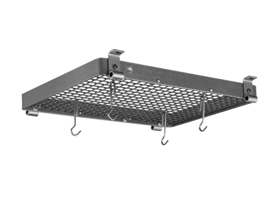 Enclume Flush Mounted Ceiling Pot Rack, 24