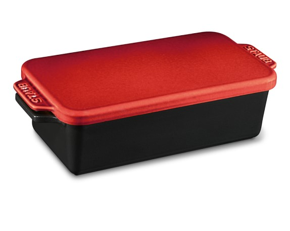 Staub Cast-Iron Loaf Pan, 1.5-Qt., Red