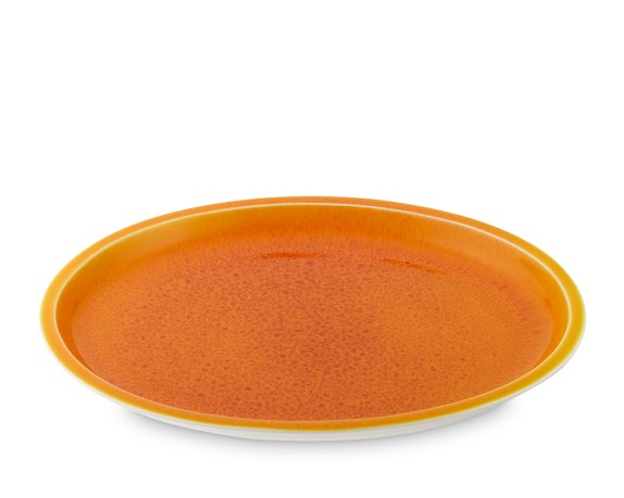 Jars Cantine Oval Platter, Orange
