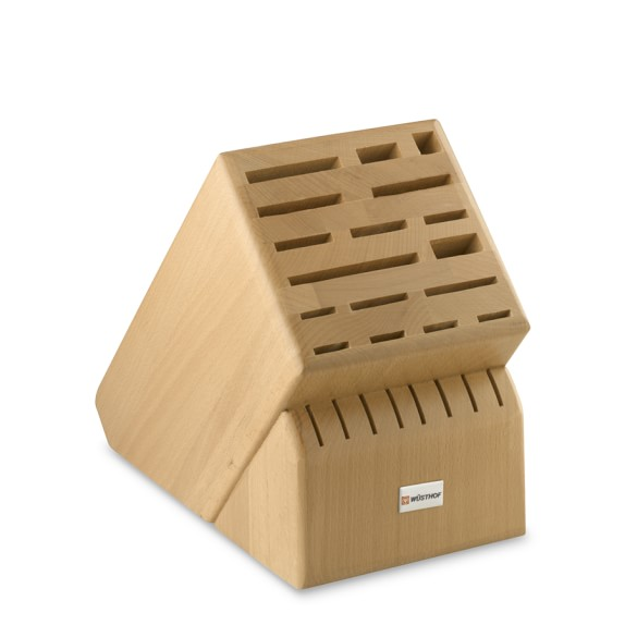 Wüsthof 25-Slot Beechwood Knife Block