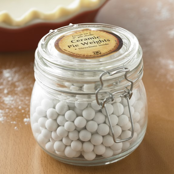 Pie Weights Jar