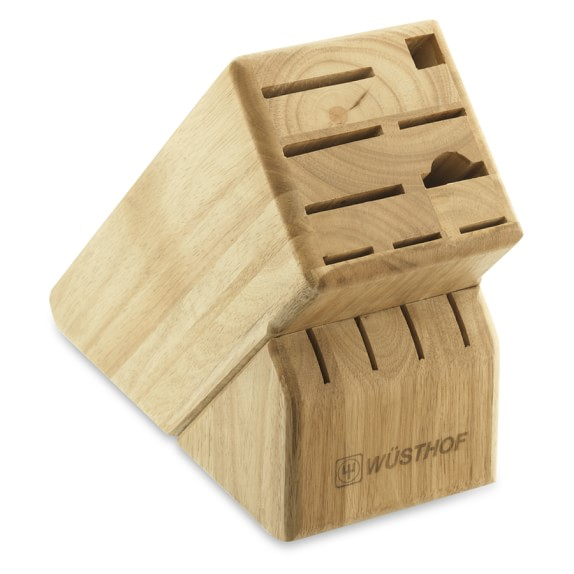Wüsthof 13-Slot Knife Block, Natural