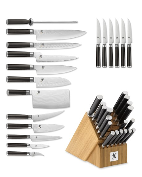 Shun Classic 19-Piece Knife Block Set