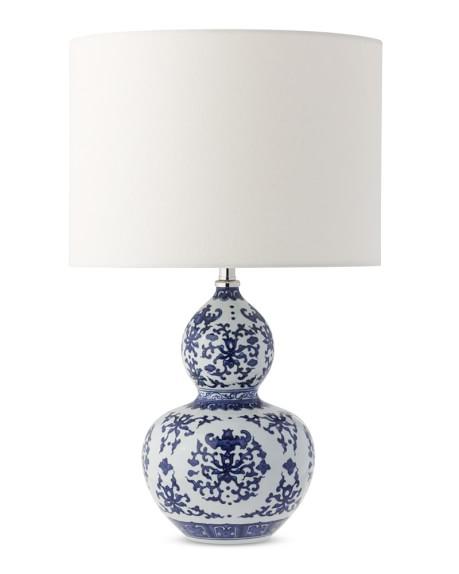 home lighting table lamps gourd ginger jar table lamp blue and white. Black Bedroom Furniture Sets. Home Design Ideas