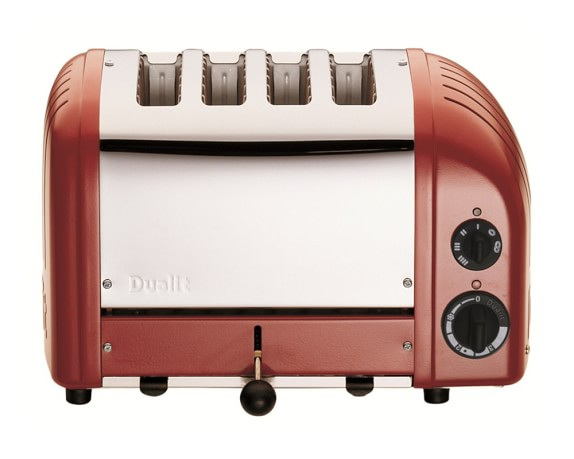 Dualit New Generation Classic 4-Slice Toaster, Red