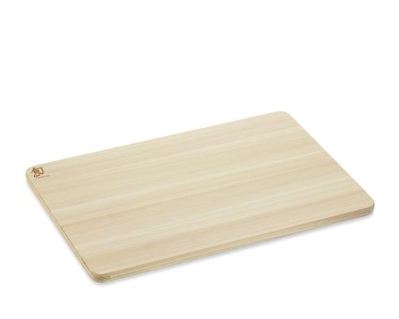 Shun Hinoki Cutting Board, Medium
