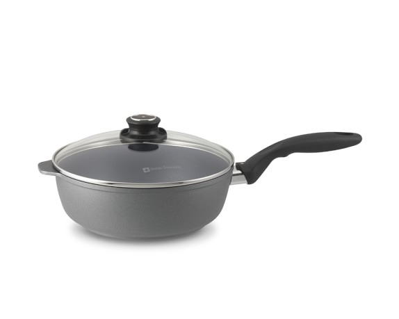Swiss Diamond Nonstick Sauté Pan, 3-Qt.